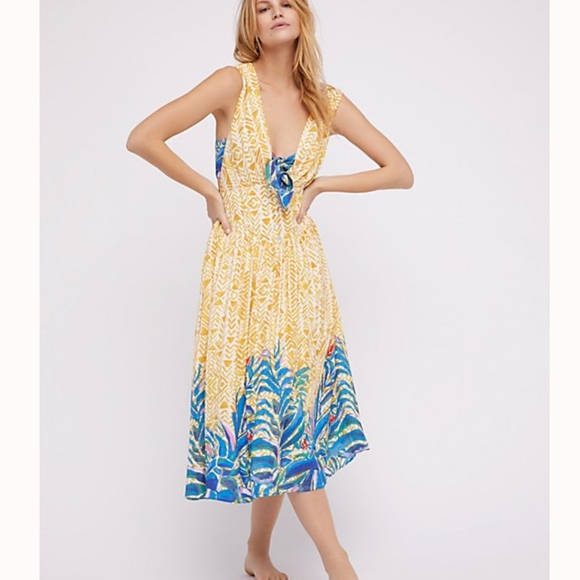 Free People Dresses & Skirts - NWT Free People Hot House Tropical Dress Set
